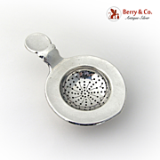 Tea Strainer 830 Standard Silver Arts and Crafts