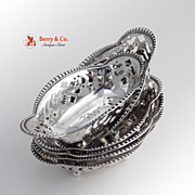 Tiffany Nut Candy Dish Sterling Silver 1907