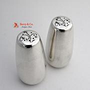 Celeste Salt and Pepper Shakers Sterling Silver Gorham 1956