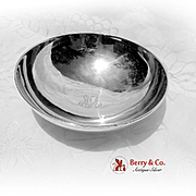 Tiffany Bowl Sterling Silver 1950