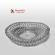 Louis XV Openwork Serving Bowl Sterling Silver Whiting 1891