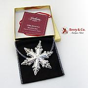 Gorham Christmas Ornament Sterling Silver 1996