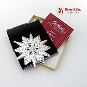 Gorham Christmas Ornament Sterling Silver 2004