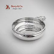 Elegant Porringer Baby Feeding Bowl Sterling Silver Lunt 1960