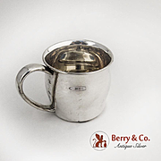 Baby Cup Bellied Body Sterling Silver Lunt 1940