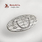 Tiffany and Co Globe Bookmark Sterling Silver