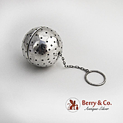 Tea Ball Sterling Silver Webster 1940