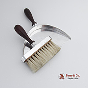 Vintage Crumb Brush Dustpan Sterling Silver 1960