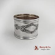 Napkin Ring Portuguese 833 Standard Silver 1920
