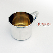 Baby Cup Sterling Silver Gorham Silversmiths 1940