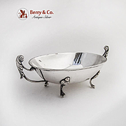 Oval Bowl Dish 800 Silver