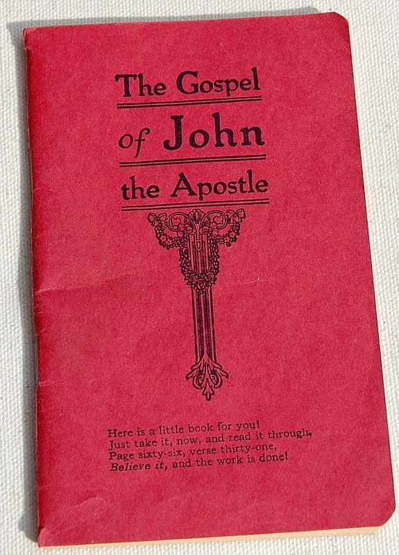 1950 The Gospel Of John The Apostle