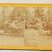 SALE 1871  Stereophotography Stereoview Scenery Of The Pennsylvania Central Rail Road