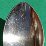 SALE Community Silverplate Fleur D Luce Serving Spoon