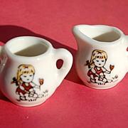 SALE Made In Japan China Doll Cream & Sugar