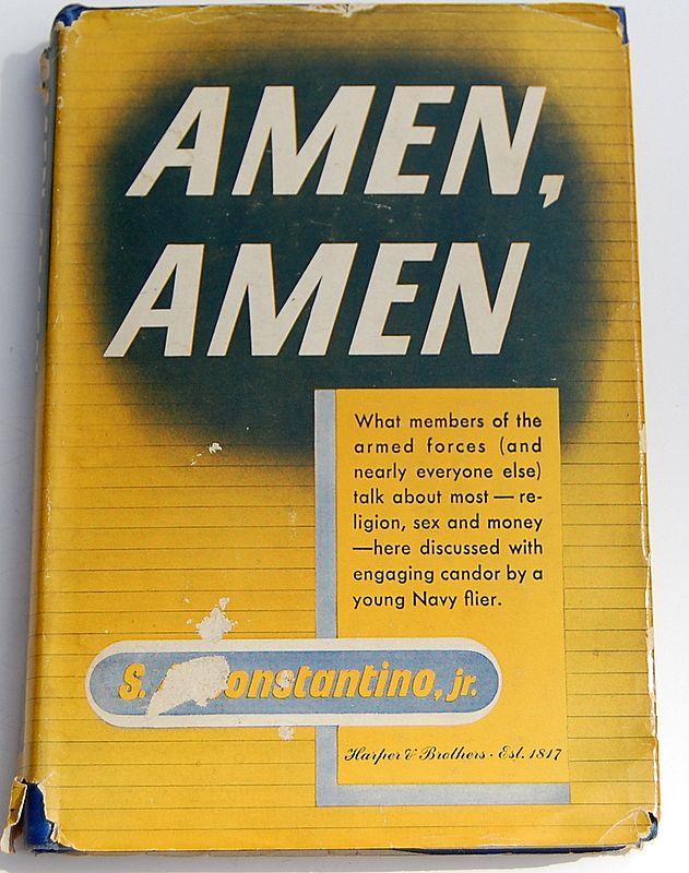 "1944 ""Amen, Amen"" By S. A. Constantino, Jr."