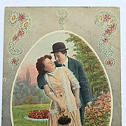 """1911 """"Why Don't You Try ?"""" Postcard"""