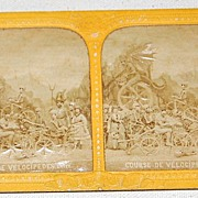 REDUCED 1872 Rare  Macabre Stereophotography Stereoview #47