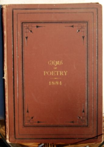 1884 Twelve Month Gems Of Poetry