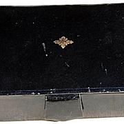 Vintage Polished Lambskin Jewelry/Trinket Box