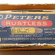 SALE Peters Rustless Smith & Wesson 38 Special Shell Box