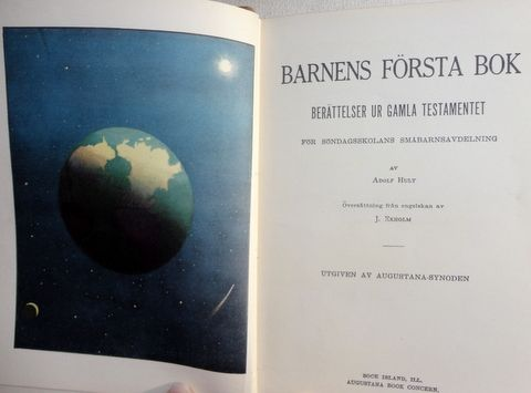 1922 Barnens Forsta Bok Swedish Bible Stories