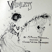 1902 First Edition Whimlets By S. Scott Stinson Pictured By Clare Victor Dwiggins