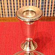REDUCED Ouchin Creation Sterling Silver Candlestick