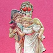 Victorian Bavarian Embossed Bookmark
