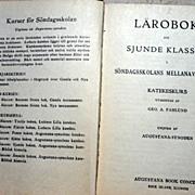 SALE 1925 Swedish  Lutheran Prayer Book