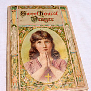 1908 Sweet Hour Of Prayer By W. W. Walford