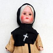 "Vintage 12"" Nun Doll"