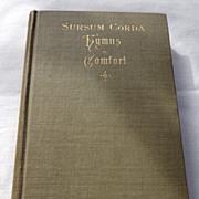 1891 Sursum Corda Hymns Of Comfort