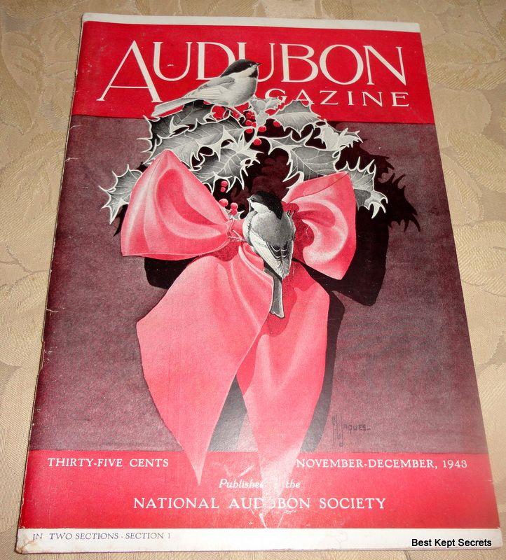 1943 Audubon Magazine Published By The National Audubon Society