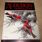 1941 Audubon Magazine Published By The National Audubon Society