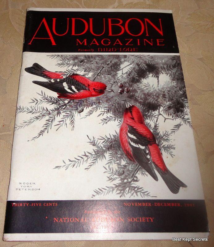 1941 Audubon Magazine Published By The National Audubon Society