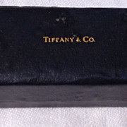 SALE Vintage Tiffany & Company Jewelry Display Box