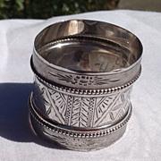Victorian Gorham Sterling Silver Napkin Ring