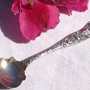 Vintage Sterling Silver Galt & Bro. Master Salt Spoon