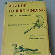 1962 A Guide To Bird Finding East Of The Mississippi By Olin Sewall Pettingill, Jr.