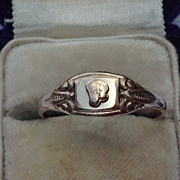 Vintage 10K Gold Filled Ring