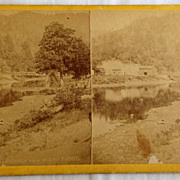 SALE 1866 - 1876  Stereo Photography Stero View Card