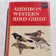 1957 Audubon Western Bird Guide By Richard H. Pough