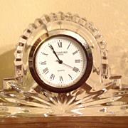 Vintage Waterford Crystal Clock