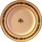 Department 56 Christmas Classic Bread & Butter Plate