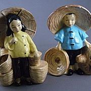 Stewart of California Planters, Oriental Girl and Boy