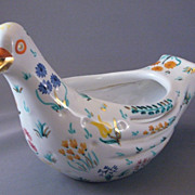 Vintage Italian Ceramic Dove Or Pigeon