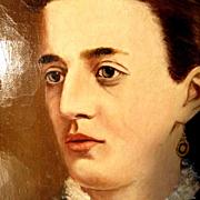 Lady's Portrait about 1880