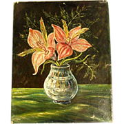 Lovely Stillife Amaryllis ca. 1900/20