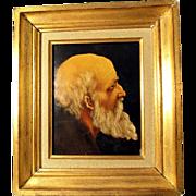 19th Century Portrait of a Bearded Man